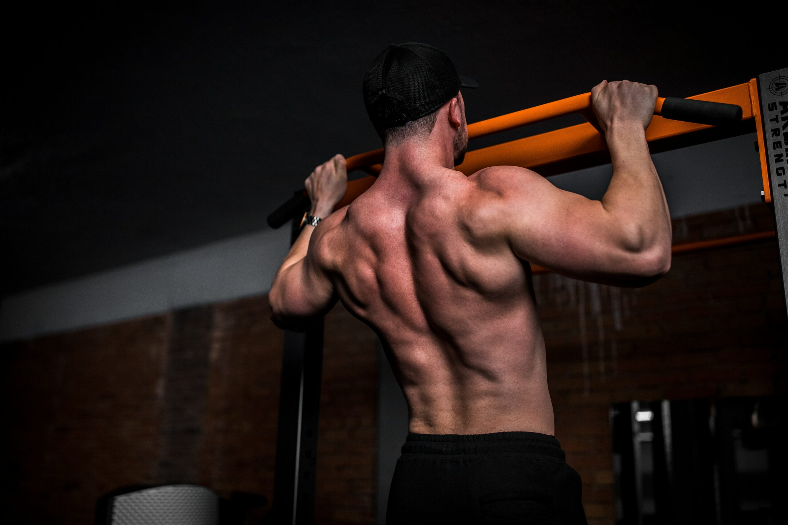 man in steroids for sale in pull up bar